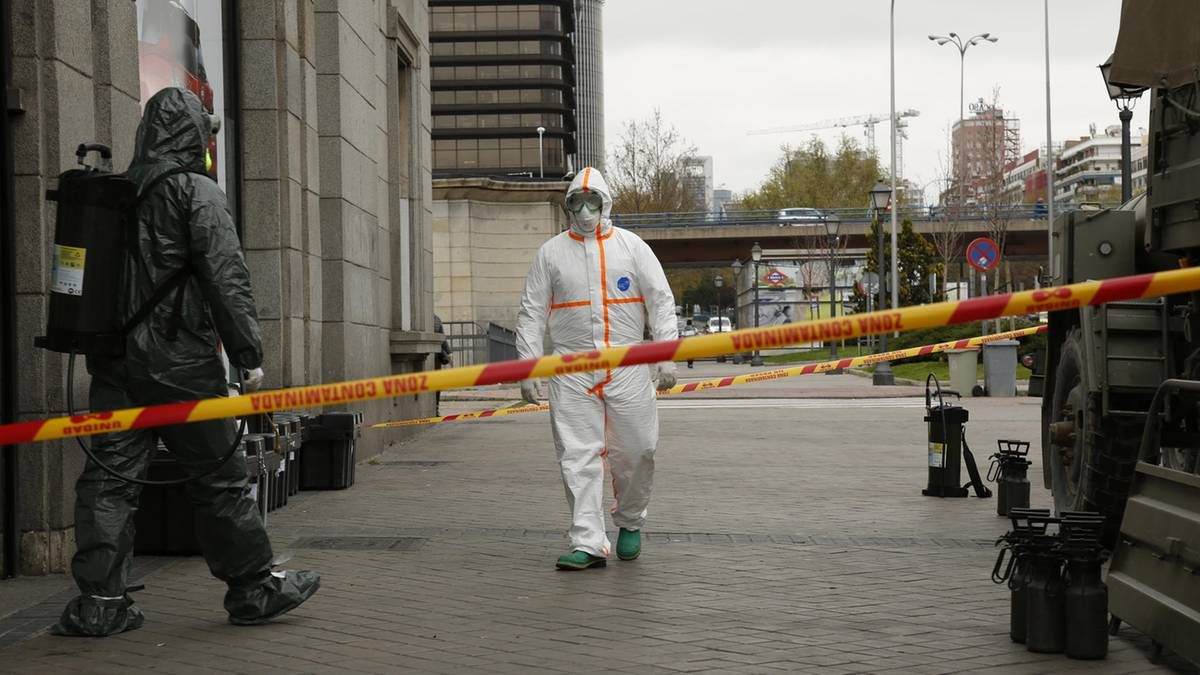 Numbers like in Italy: Every six minutes a person in Madrid, dies by the Coronavirus