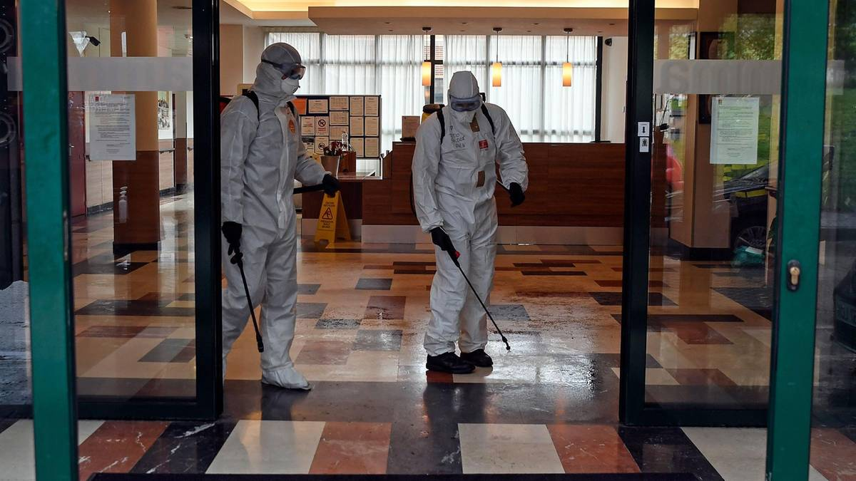 Soldiers in Spain to disinfect ancient homes and found the bodies in the beds