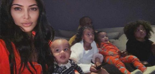 Kanye West Took His Kids to Wyoming to Let Wife Kim Kardashian 'Have a Break': Source