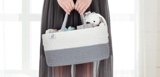 Cute Baby Diaper Caddies That Can Be Repurposed