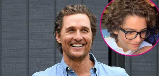 Double Take! Matthew McConaughey's Son Levi, 12, Looks Like Dad in Rare Pic