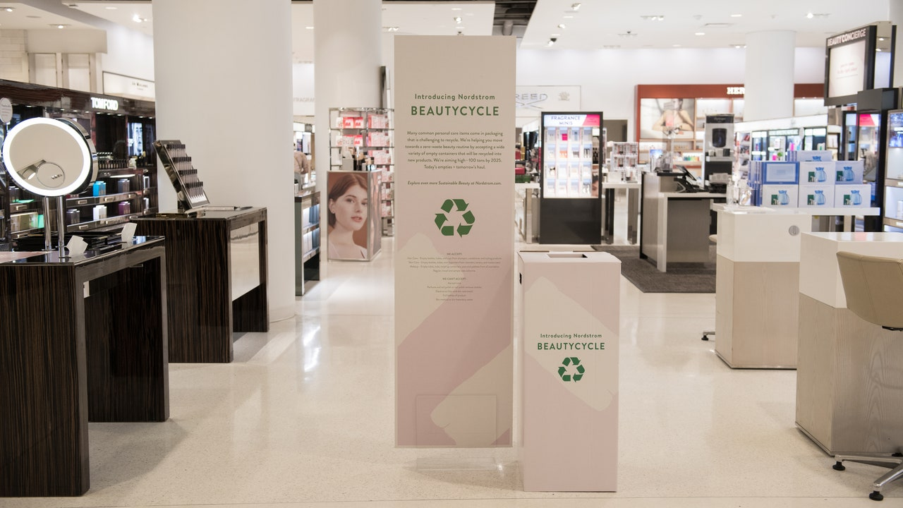 Nordstrom Wants to Recycle Your Empty Beauty Products