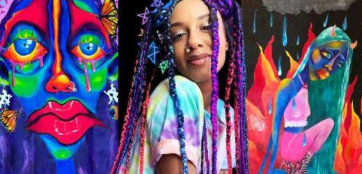 Rocio Cabrera's Art Lets Black Girls Be Weird and Wonderful