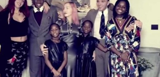 Madonna Shares 'Beautiful' Thanksgiving Family Photo with All Six Kids: 'Giving Thanks'