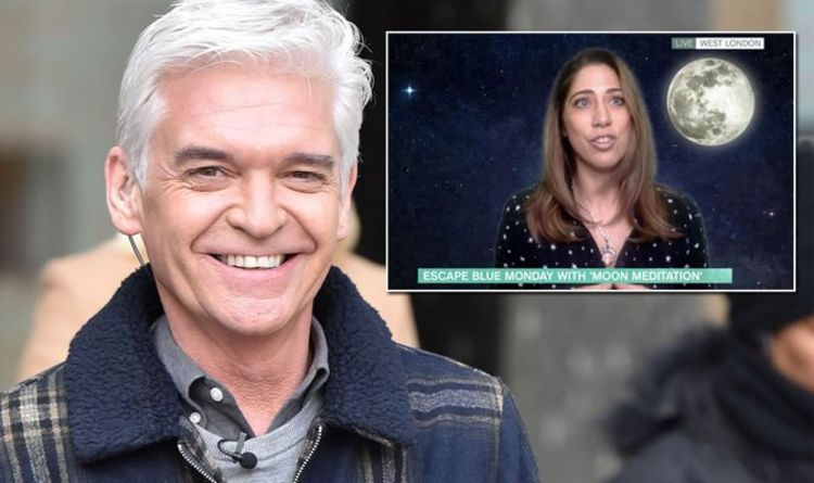 'The moon has power over us' Phillip Schofield admits full moon holds many health benefits