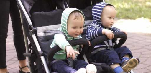 These Are The Most Secure Double Strollers With Maximum Maneuverability