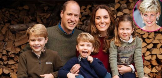Prince William, Kate Middleton's Kids Make Sweet Cards for 'Granny' Diana