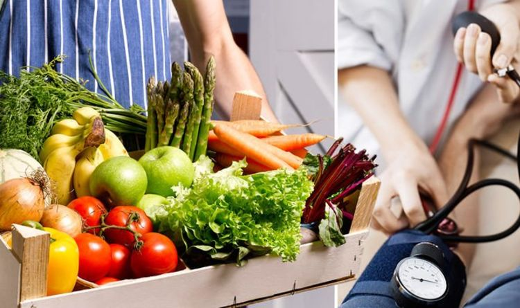 High blood pressure: The five best fruit and veg to lower a high blood pressure reading