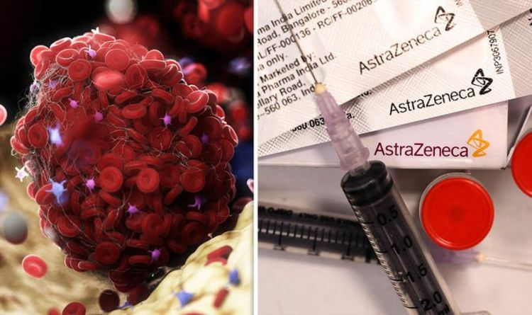 Who is at risk of blood clots? How could AstraZeneca cause them? Can aspirin prevent them?