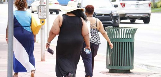 Adult obesity, inactivity associated with violent crime in Black and Hispanic communities