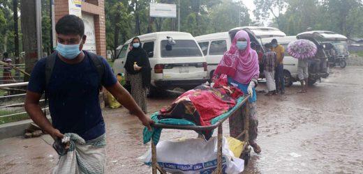 Variant surge at border forces Bangladesh into new lockdown
