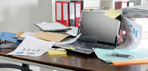 Office Clutter Linked to Work, Life Burnout