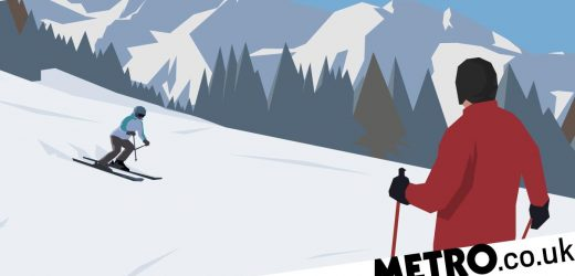 People who ski are less likely to have anxiety, says study